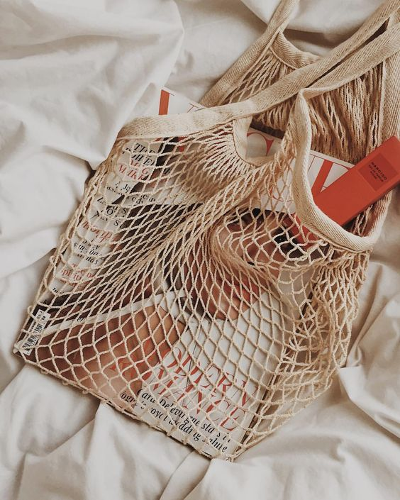 Net bag inspo idea