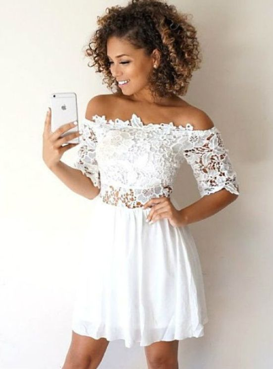 10 White Graduation Dress Looks To Get Your Diploma In