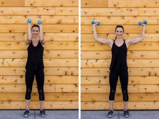 The Best Workouts To Get Toned Arms