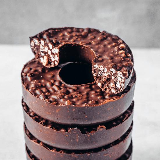 chocolate crunch doughnuts