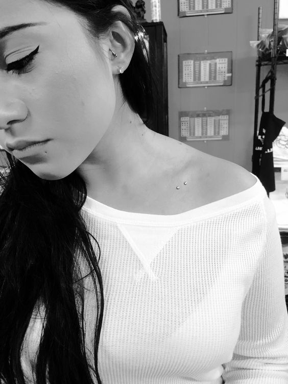 Everything You Need To Know about dermal piercings