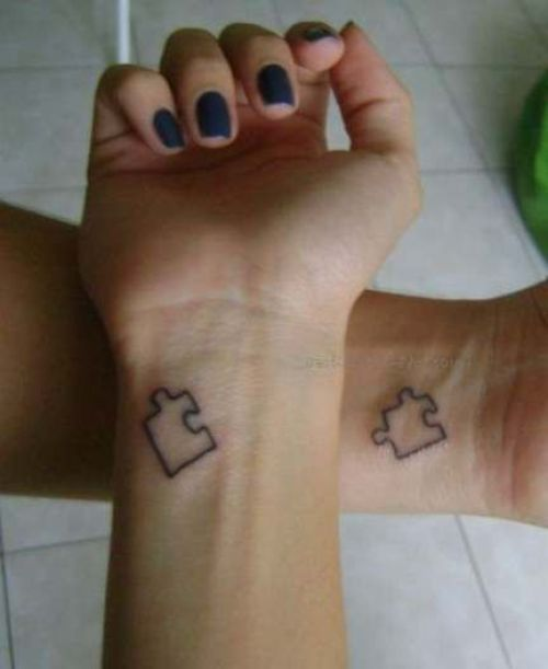 15 Matching Tattoos To Get With Your Bestie