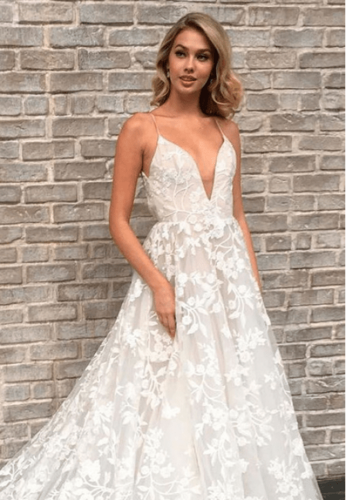*10 Sexy Wedding Dresses To Flaunt This Summer