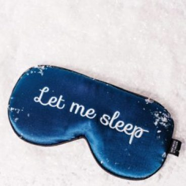 Want a good night sleep without being disturbed always carry an eye mask