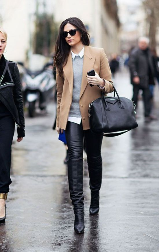"""Fall is one of the best seasons when it comes to fashion. Knee-high boots, tights, and fuzzy coats, all the things we love. However, when it comes to work there is a certain standard that is set in order to dress """"professionally"""" but dressing professionally doesn't mean you have to sacrifice dressing cute. Here are some ideas for trendy fall outfits for work throughout the fall."""