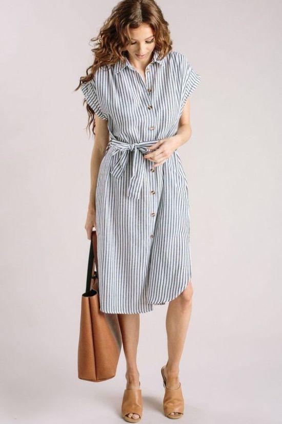 12 Cool Summer Dresses For Work For Hot Summer Days