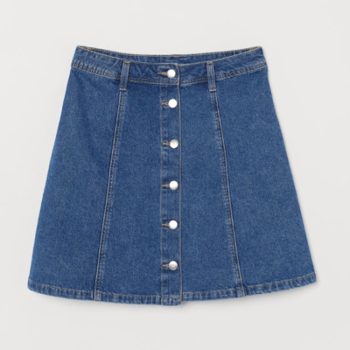Outfit Ideas Based On Your Favorite Jean Skirt