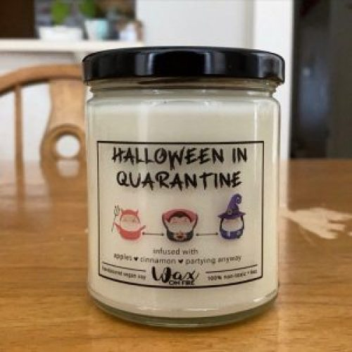 *5 Halloween Essentials For The Quarantined Girl