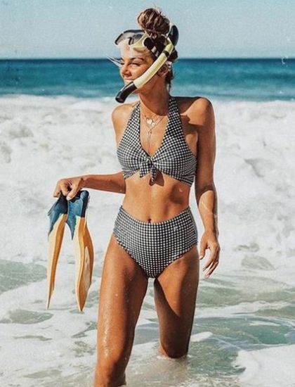 10 High Waisted Bikini Looks You Need To Try This Summer