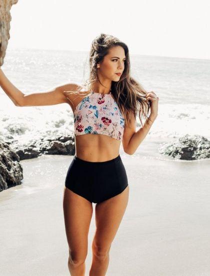 10 High Waisted Bikini Looks You Need To Try This Summer