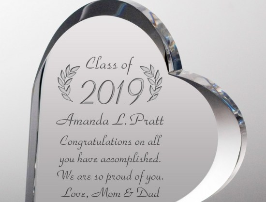 Do you have a loved one that's about to graduate soon? Here are some personal gifts to get them!