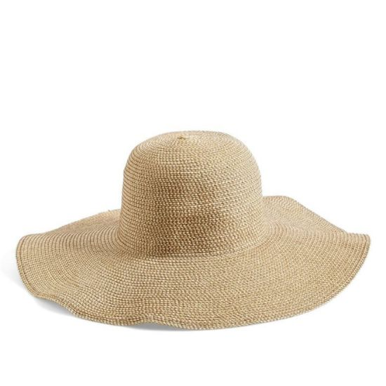 woven straw hat styles