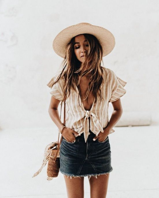 woven straw hat trend