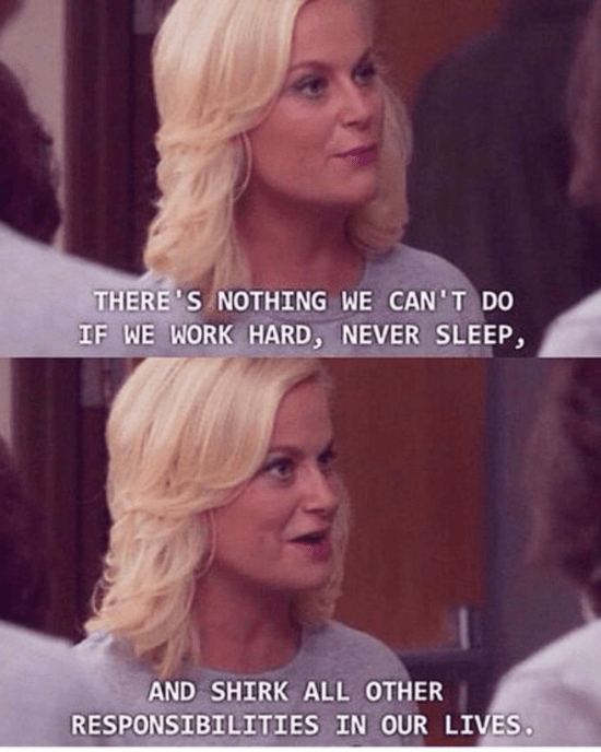 Your Week Told By Leslie Knope