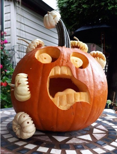 15 Pumpkin Designs That You'll Want To Copy For Halloweeen This Year
