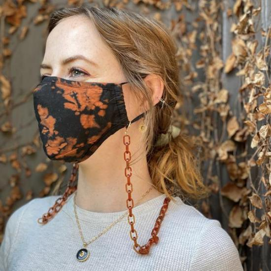 DIY Cute Face Mask Chains On A Budget