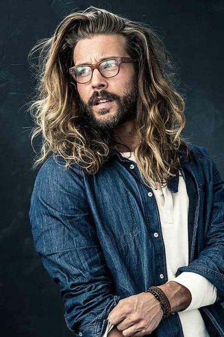 5 Men S Hairstyles You Can Rock If You Have Long Hair Society19