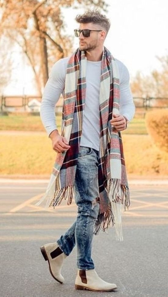 10 Scarf Looks For Men You'll Want To Copy This Fall