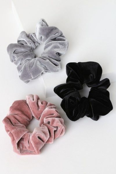 12 Velvet Scrunchies That Will Take Your Ponytail To The Next Level