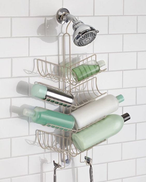 8 Cute And Functional Shower Caddies For Dorm Living