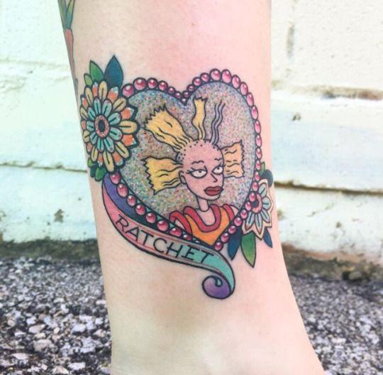 rugrats retro tattoo