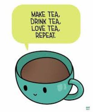 tea drinking meme