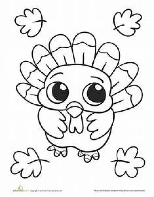 15 Thanksgiving Coloring Pages Your Kids Will Have A Blast With