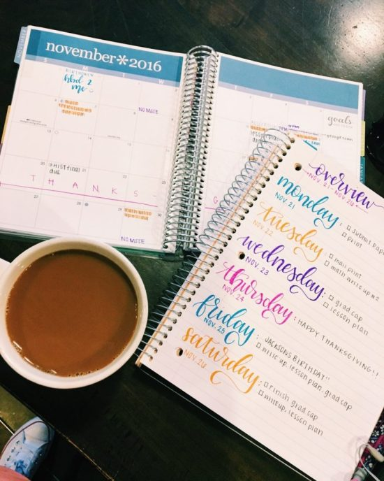 5 Tips To Stay Organized In College