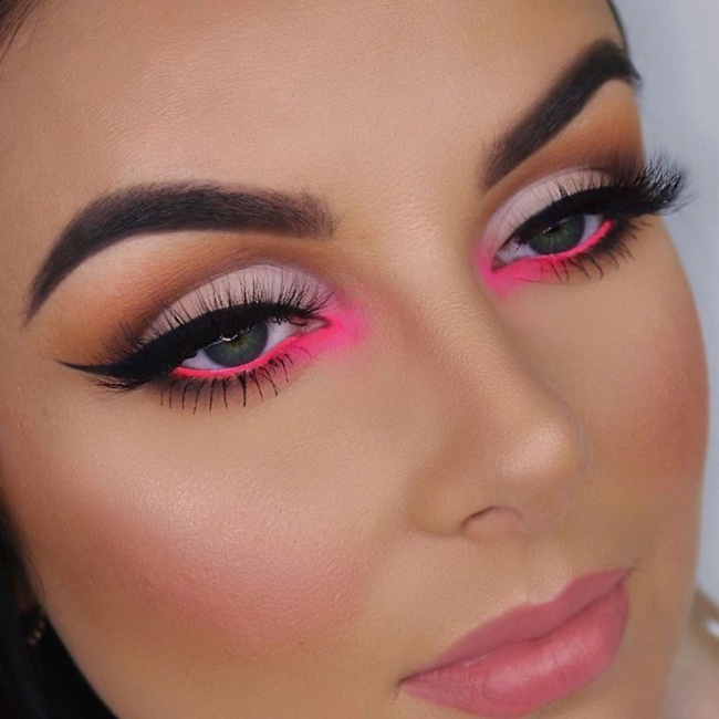 How To Rock Bright Colored Makeup Without Going Overboard