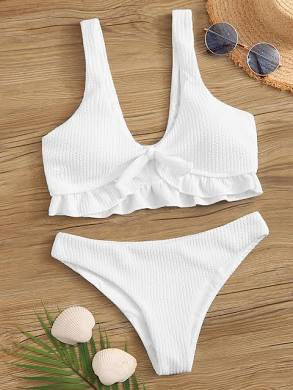 *10 Adorable White Swimsuits To Try On This Summer