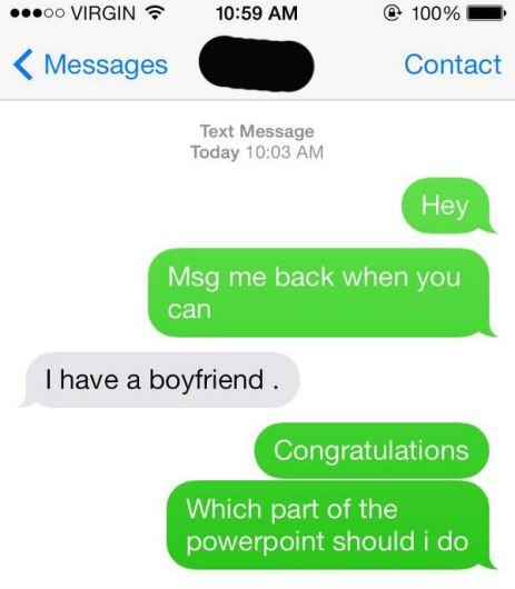 Texting meme