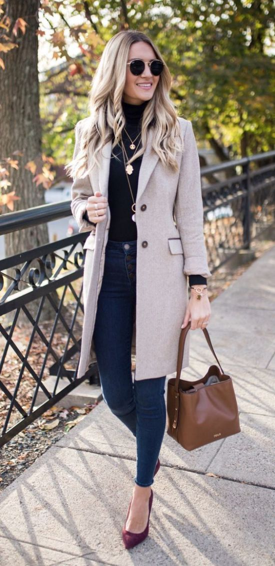 Casual But Professional Work Clothing For The Fall Season