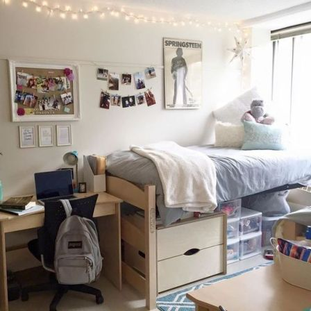 The pros and cons to living in a single dorm room freshman year!
