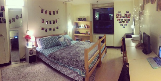 Pacific Lutheran University has some amazingly decorated dorm rooms!
