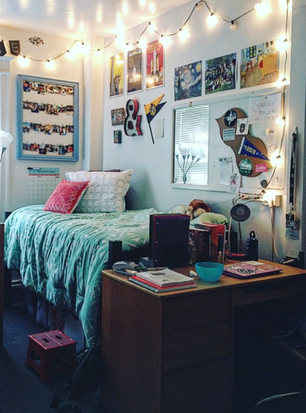 The George Washington University has some amazingly decorated dorm rooms!