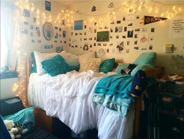 The University of Michigan has some amazingly decorated dorm rooms!