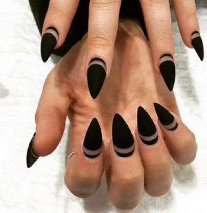 A Round Up Of The 50 Prettiest Matte Nails On Pinterest ...