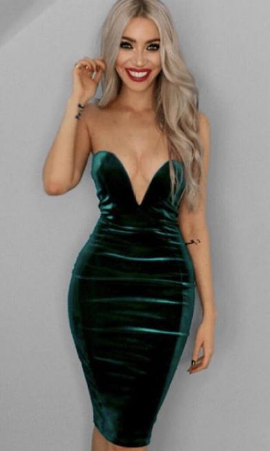 This is one of the best sexy club dresses!