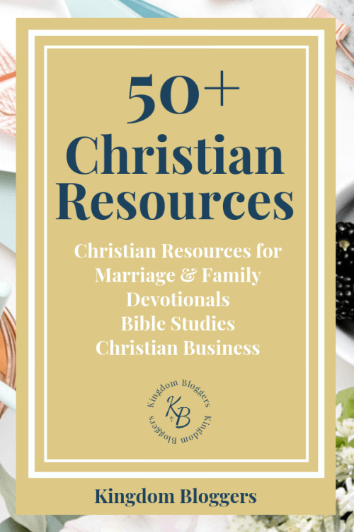 resources for christians