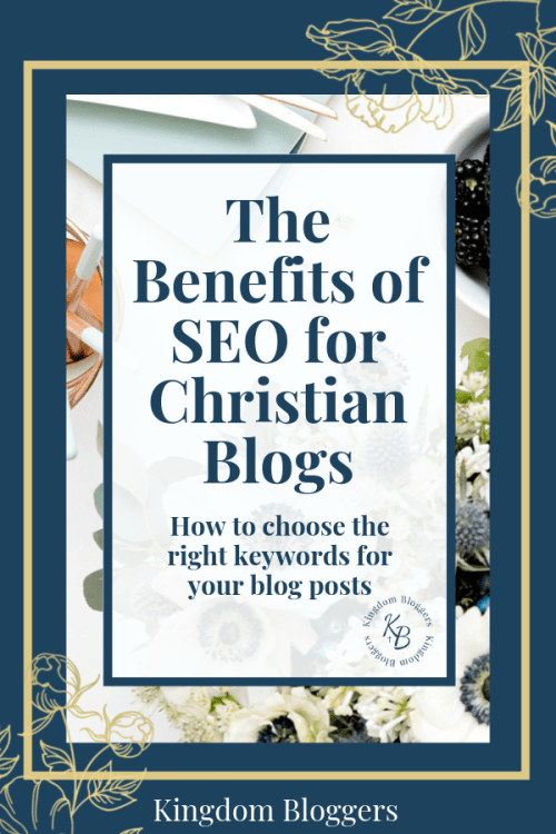 Benefits of SEO for Christian Blogs