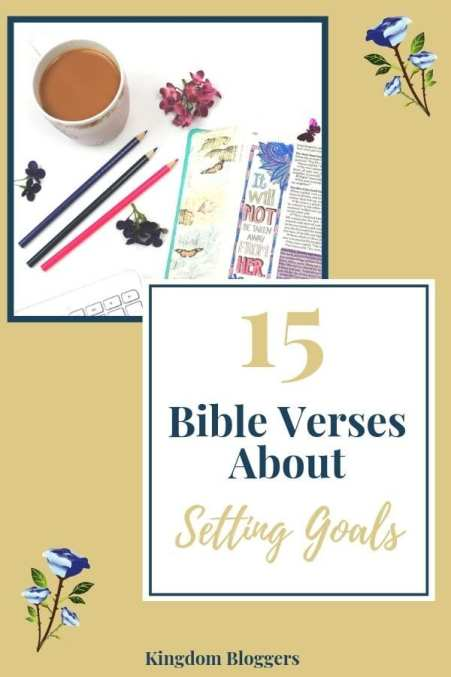 Bible Verses About Setting Goals