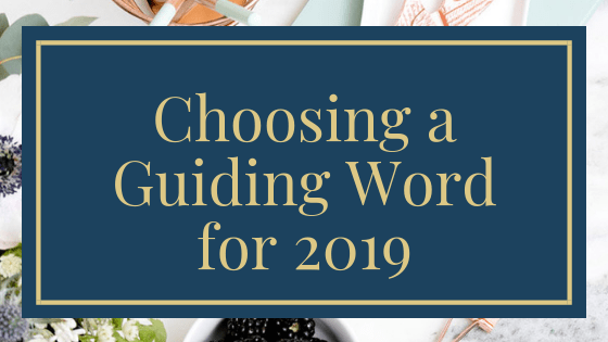 Choosing a Guiding Word