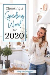 choosing a guiding word