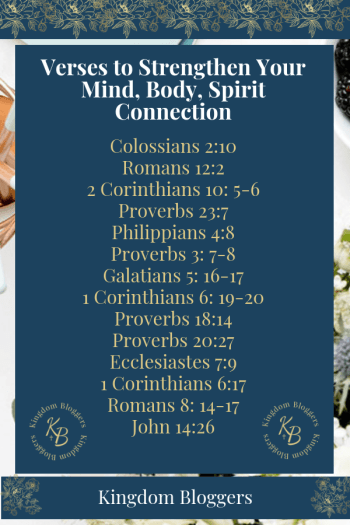 14 Verses to Strengthen Your Mind, Body, Spirit Connection