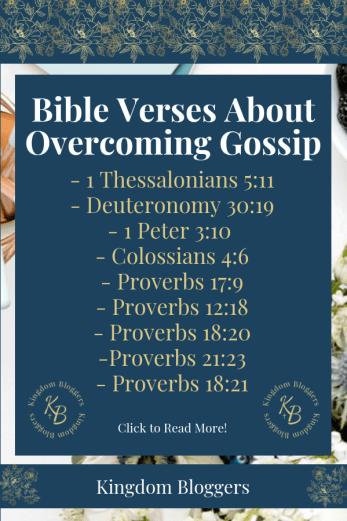 Bible Verses About Gossip