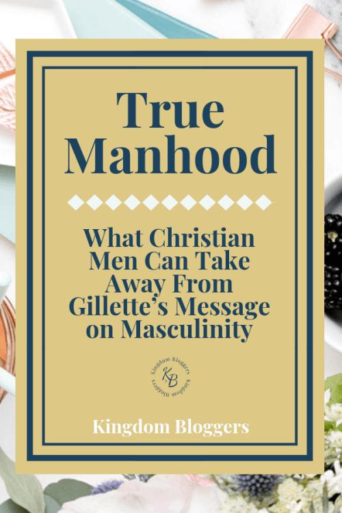 True Manhood