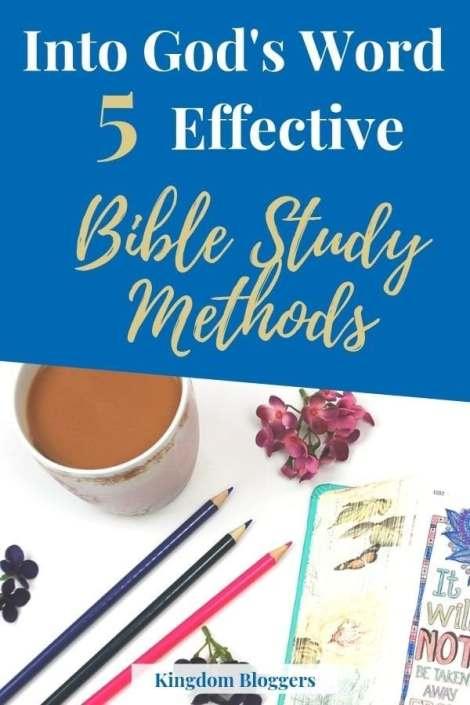 Effective Bible Study Methods