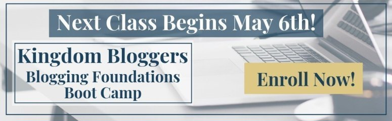 Kingdom Bloggers Foundations of Blogging