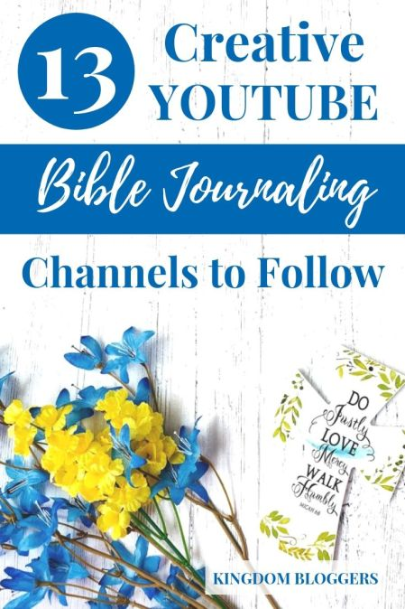 youtube bible journaling