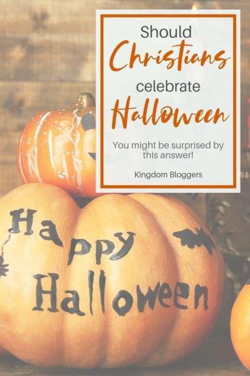 should Christians celebrate Halloween